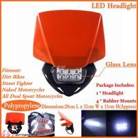 Enduro Motorcycle Motocross LED Headlight Head Lamp For KTM EXC SX SXF XCF EXC-F
