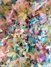 biodégradable Confettis Papillon Rose Ivoire Bleu écologique GRAND SAC VINTAGE