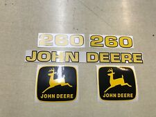 John Deere 260 Loader Decals