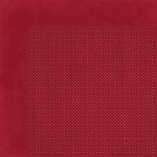 BoBunny 12x12 papel scrapbooking Doble Dot Collection Mora X 2 Hojas