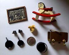 Dollhouse Miniatures Vintage Lot