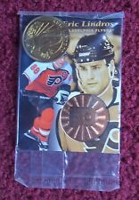 NHL Hockey Cards Sealed Promo Pack ~ 1997 Pinnacle Mint w/ Eric Lindros Coin