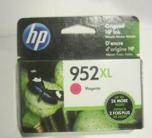 NEW Genuine HP 952XL Magenta Ink Cartridge High Yield L0S64AN OEM Exp Nov 2021