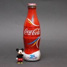 COCA COLA 25th Year Makro Market BOTTLE ボトル Flasche bouteille 瓶子 botella garrafa