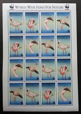 Angola WWF Birds 1999 Fauna (sheetlet) MNH