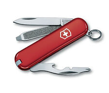 NEW VICTORINOX SWISS ARMY POCKET KNIFE RALLY RED BOXED 54021