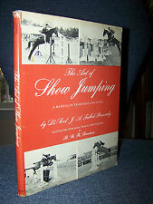 The Art of Show Jumping, Vintage, 1966, 80 Illustrations, By Talbot-Ponsonby
