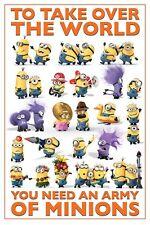 Poster DESPICABLE ME / ICH EINFACH UNVERBESSERLICH 2 - Minions World (M2) 58193