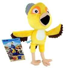 Nico Rio The 3D Movie Plush Toy Character Yellow Canary Bird Stuffed Animal 8""