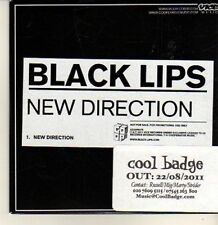 (CP191) Black Lips, New Direction - 2011 DJ CD