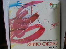 Folklorica de Venezuela QUINTO CRIOLLO vol 1  - LP