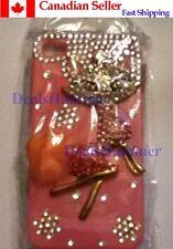 Cute Fox Luxury Diamond Cryatal in Metal Hard Skin Case Cover For iPhone 4 4G 4S