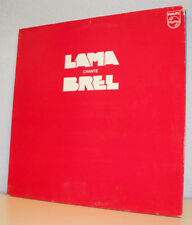 "33 tours SERGE LAMA Disque Vinyle LP 12"" LAMA CHANTE BREL - PHILIPS 9101255"
