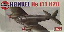Airfix 1/72 Heinkel He 111 H20 German Twin Prop Bomber