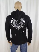 $149 Shattered Horseshoes True Religion Men Hoodies Sweats Black Sportswear