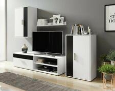 Wohnwand Falgo Schrankwand Anbauwand Wohnzimmer-Set Komplett TV-Schrank M24