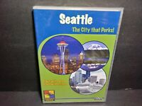 Seattle: The City That Perks (DVD, 2008) Brand New B335