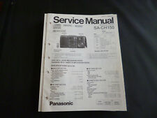 Original Service Manual  Panasonic SA-CH150