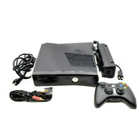Microsoft Xbox 360 S Slim 4GB Console Tested System W/ Oem Controller Lot bundle