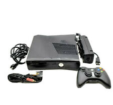 New listing Microsoft Xbox 360 S Slim 250Gb Console Black Tested System W/ Controller Cords