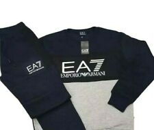 New Emporio Armani EA7 Navy Tracksuit in Large