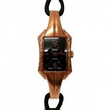 New Ladies Gruen Swiss gsc06-2 Curvex Link Rope Rose Gold Tone Bracelet Watch