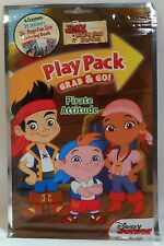Play Pack JAKE NEVERLAND PIRATES Coloring Book Sticker Crayons Resealable Travel