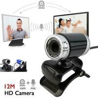USB 50MP HD Webcam Web Cam Camera For Computer PC Desktop Laptop S0L0 W1V5
