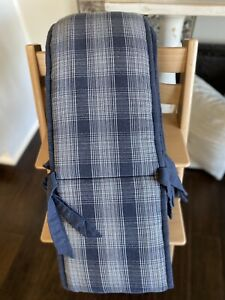 Restoration Hardware Baby & Child Boys' Hampstead Plaid Crib Bumper Navy