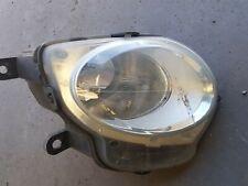 2011 FIAT 500 DRIVER SIDE, O/S BUMPER FOG LIGHT/DRL 45520711, Used, Original