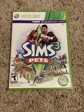 The Sims 3: Pets - (Microsoft Xbox 360, 2011)