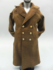 1/6 Scale Male Soldier Accessories Clothes WWII U.S. Army Overcoat Dust Coat