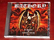 Bathory: In Memory Of Quorthon Vol. I CD 2005 1 Black Mark Sweden BMCD666-23 NEW