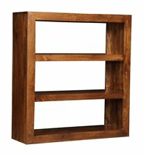 DAKOTA DARK SOLID MANGO MULTI-SHELF UNIT (76N)