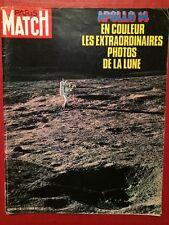 Paris Match 27/02/71 Apollo 14 Romy Schneider Ferrari L'ordinateur Gilles Guiot