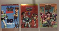Toy Story 1, 2, 3 Disney Trilogy (3-DVD Combo) FREE First Class Shipping!