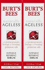 Burt's Bees Naturally Ageless Intensive Repairing Serum, 0.45 Fluid Ounces 2Pack