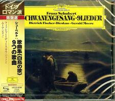 DIETRICH FISCHER-DIESKAU-SCHUBERT: SCHWANENGESANG; LIEDER-JAPAN SHM-CD D20