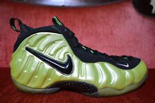 CLEAN Nike Air Foamposite Pro ELECTRIC GREEN 624041-300 Size 11 ElectroLime Yell