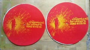THE CHEMICAL BROTHERS Come With Us 2001 UK promo only pair of slipmats