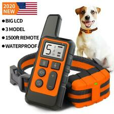 Dog Training Collar Remote Waterproof Electric Pet Shock Collar USB Rechargeable