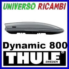 BOX AUTO Thule Dynamic 800 TITANIO LUCIDO il più sportivo aerodinamico e sottile