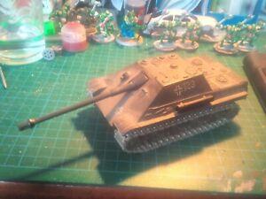 Char Solido Jagdpanther 1/50 Tank