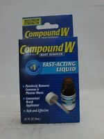 Compound W Compound W Wart Remover - Maximum Strength Liquid, 0.31 oz (Pack...