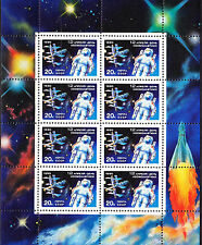 Russia 1990 Space Cosmonautic Day Sc.5883 Sheetlet MNH