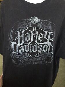 Harley Davidson 3XL Hammer down and bad boy attitude