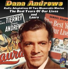 Dana Andrews-The Best Years of Our Lives and Laura Cd New