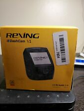 """New listing Rexing V1 4K Ultra Hd Dash Cam 2.4"""" Lcd Screen Wi-Fi Gps Sony Imx307 - New - Wh3"""