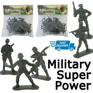40 Pcs Military Toy Soldiers Plastic Army Men Figures Domination