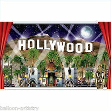 """62"""" Hollywood Window Awards Night Giant Sign Banner Scene Setter Add On Prop"""
